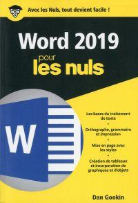 Word 2019 pour les Nuls poche