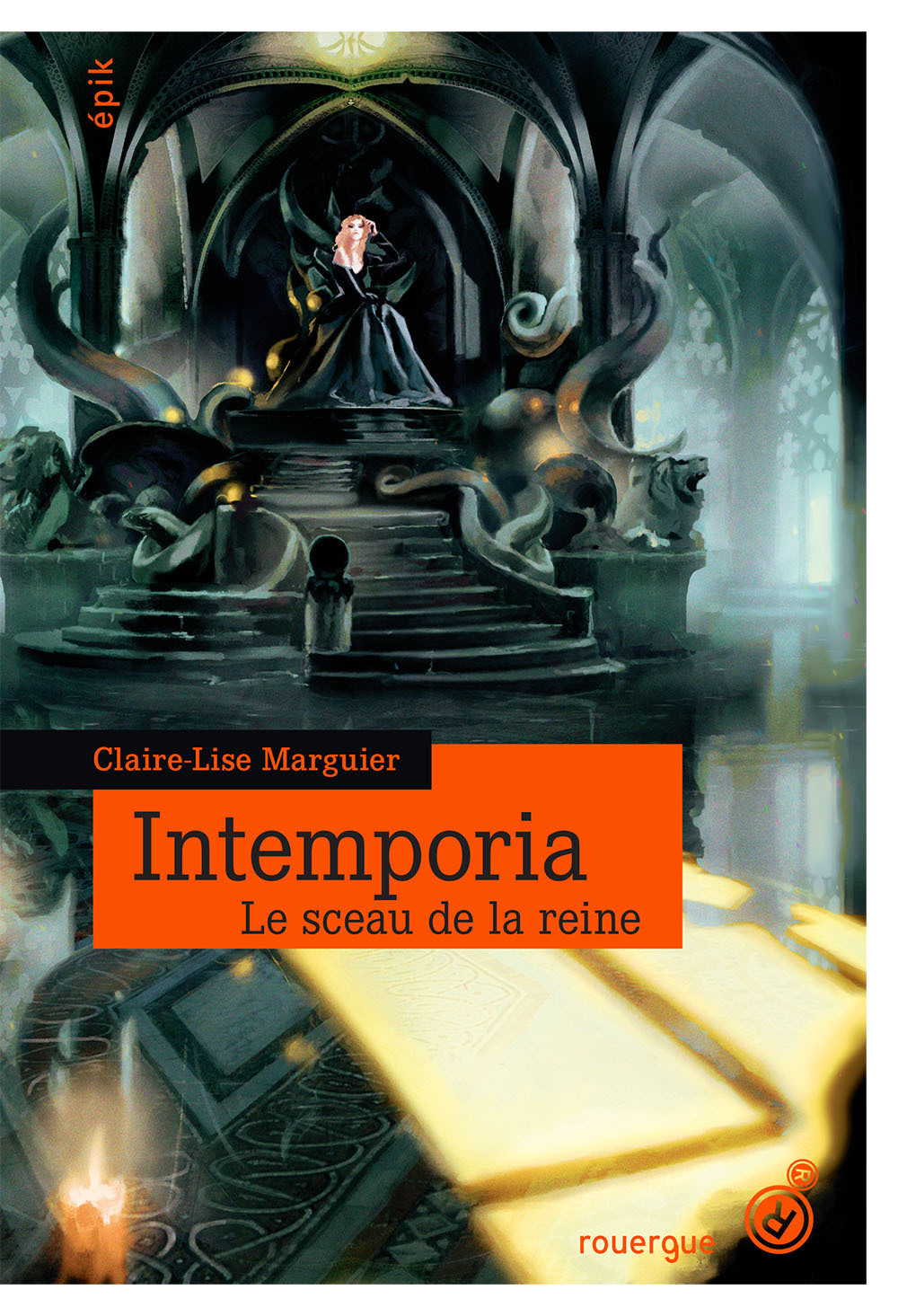 Intemporia tome 1 | Marguier-Boulvard, Claire-Lise