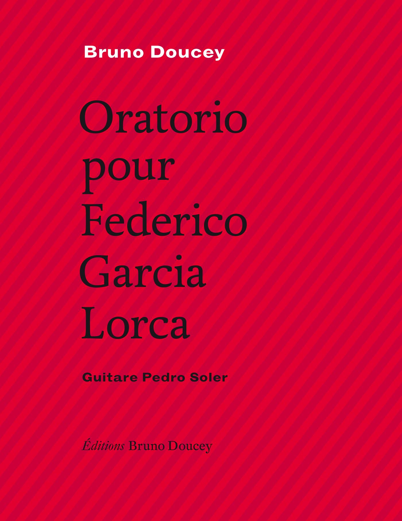 Oratorio pour Federico Garc...