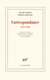Correspondance (1919-1935)