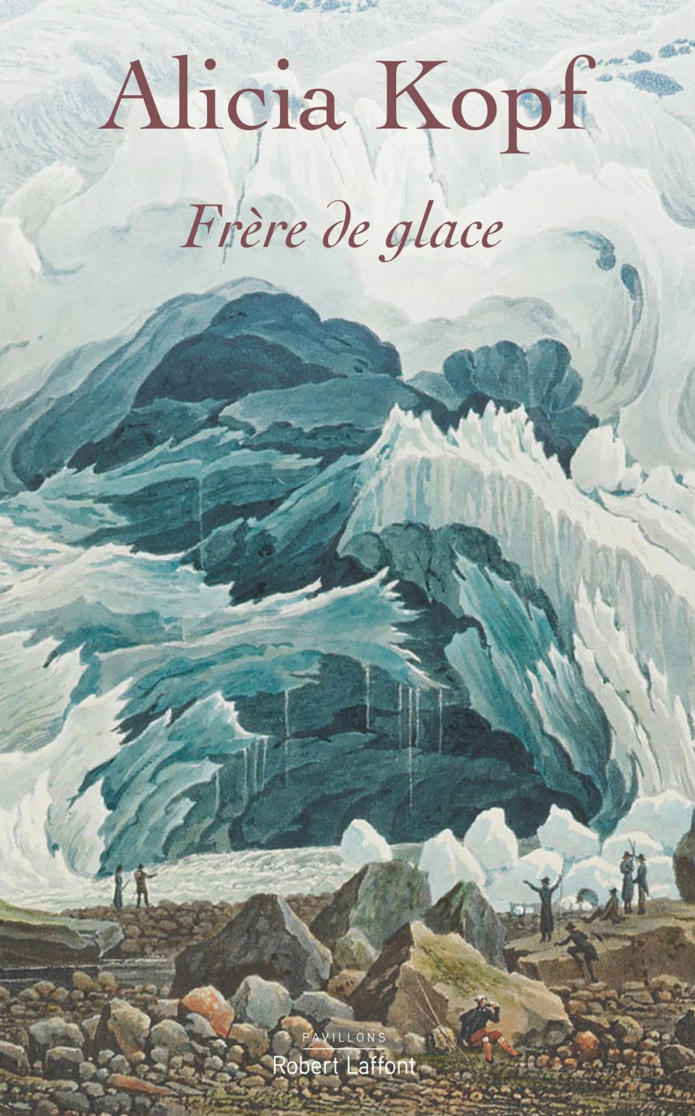 Frère de glace | KOPF, Alicia. Auteur
