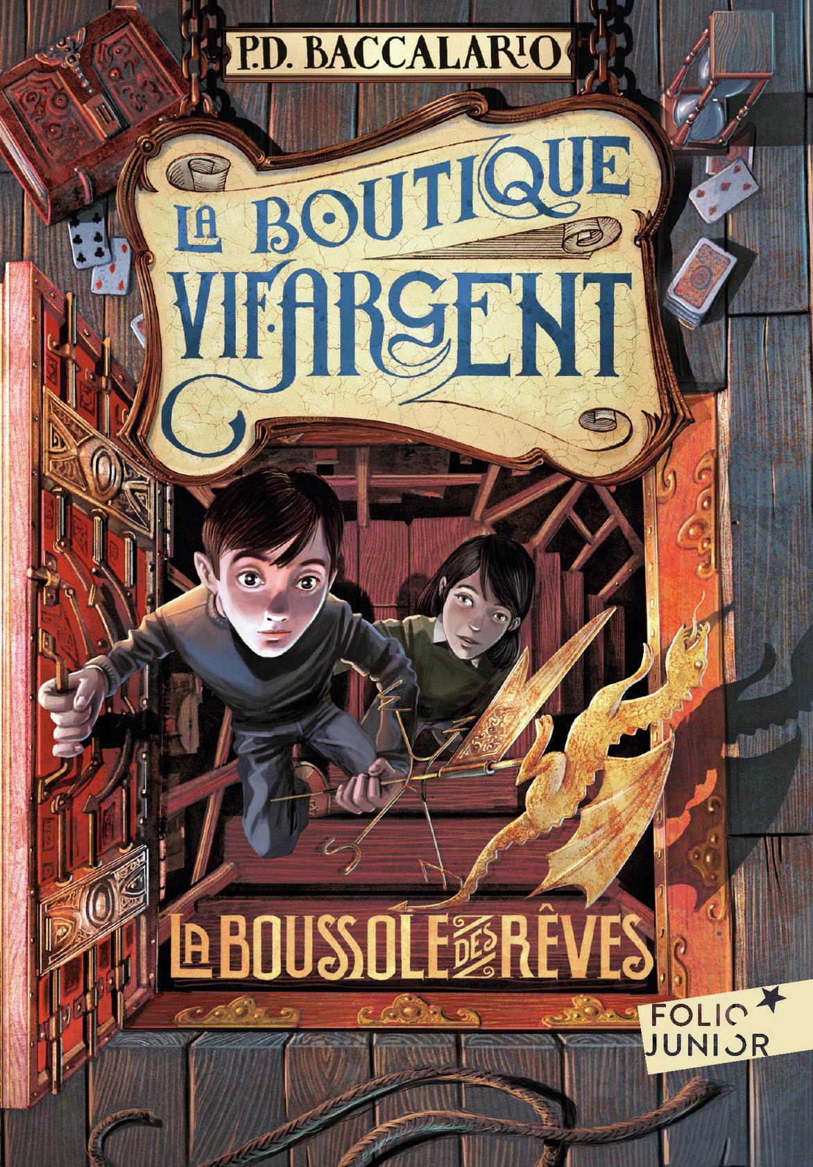 La Boutique Vif-Argent (Tome 2) - La Boussole des rêves