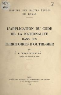 L'application du code de la...