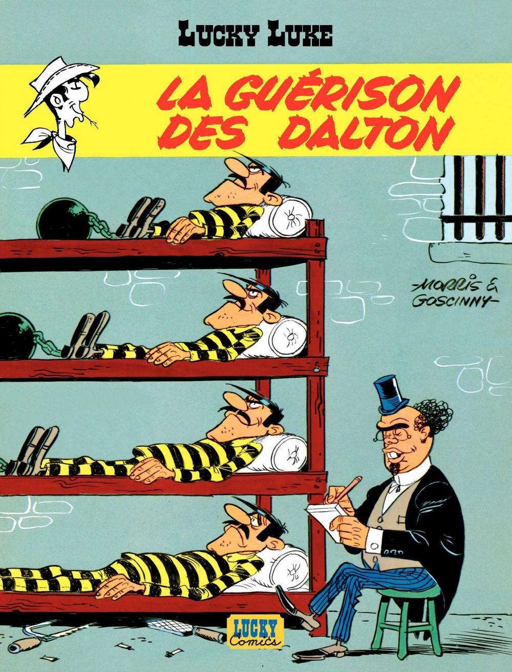Lucky Luke - tome 12 – La Guérison des Dalton |