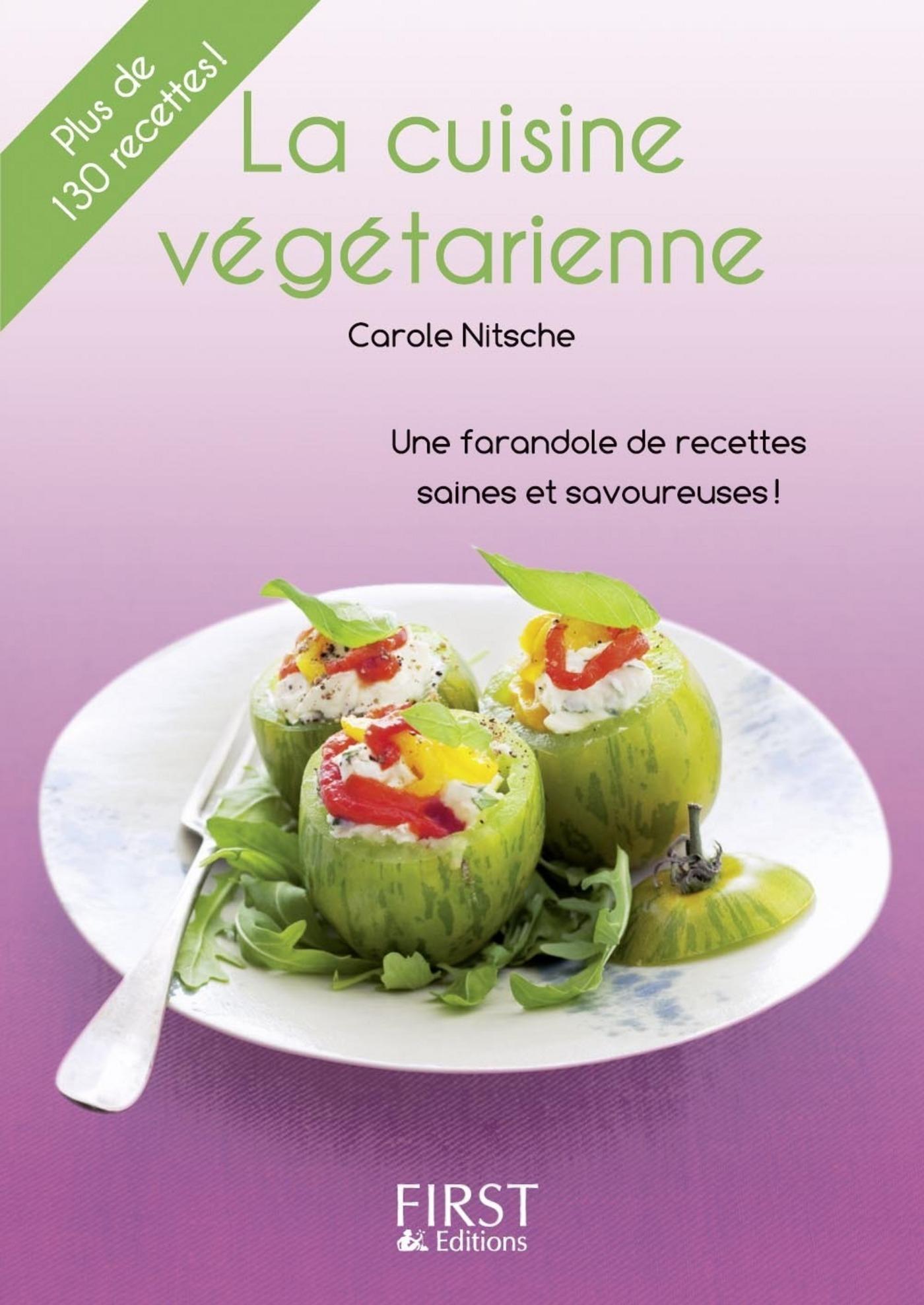Petit livre de - Cuisine végétarienne