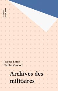 Archives des militaires