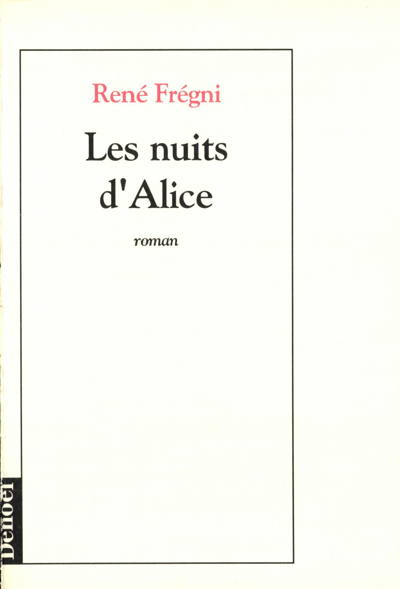 Les Nuits d'Alice