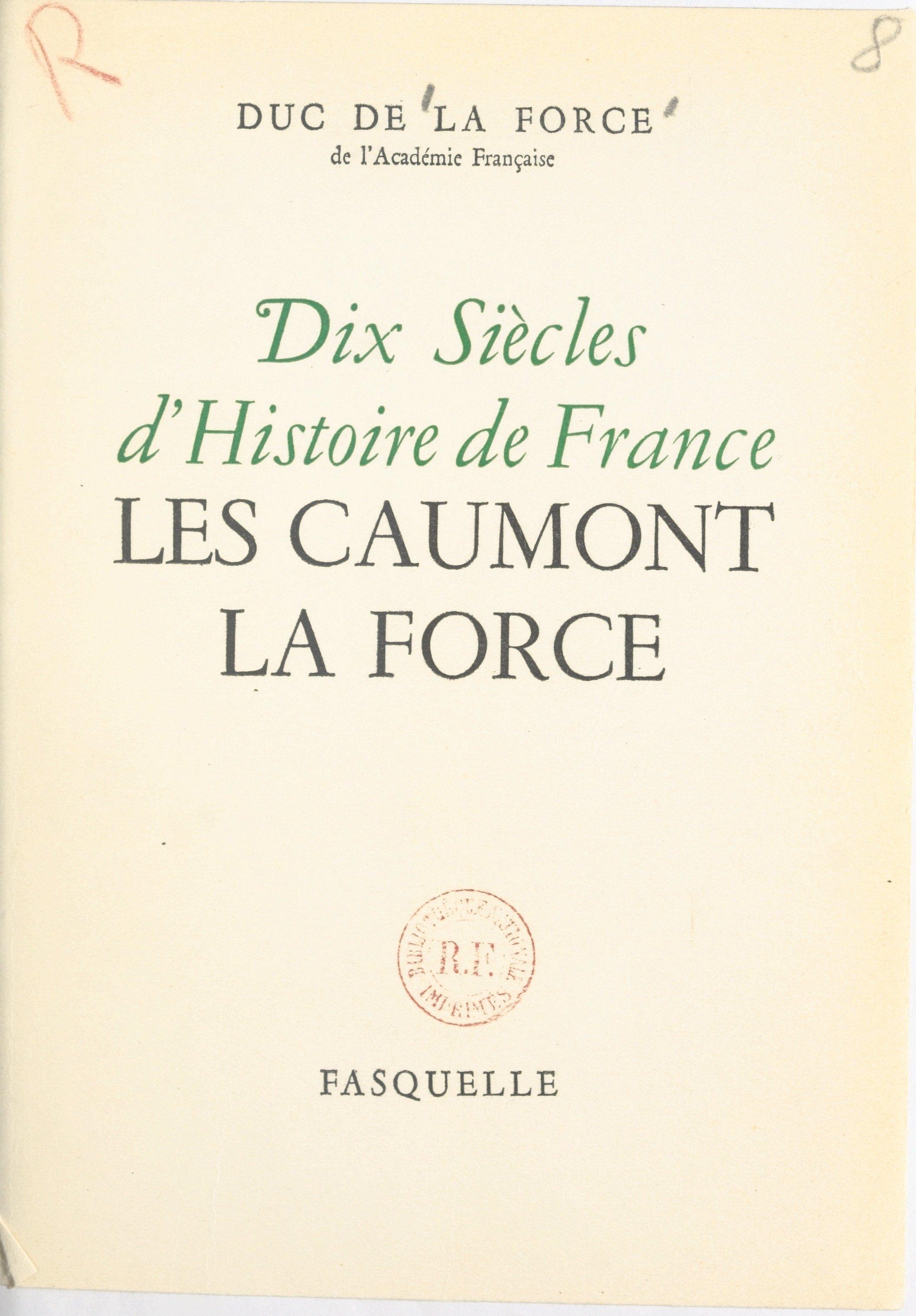 Dix siècles d'histoire de F...