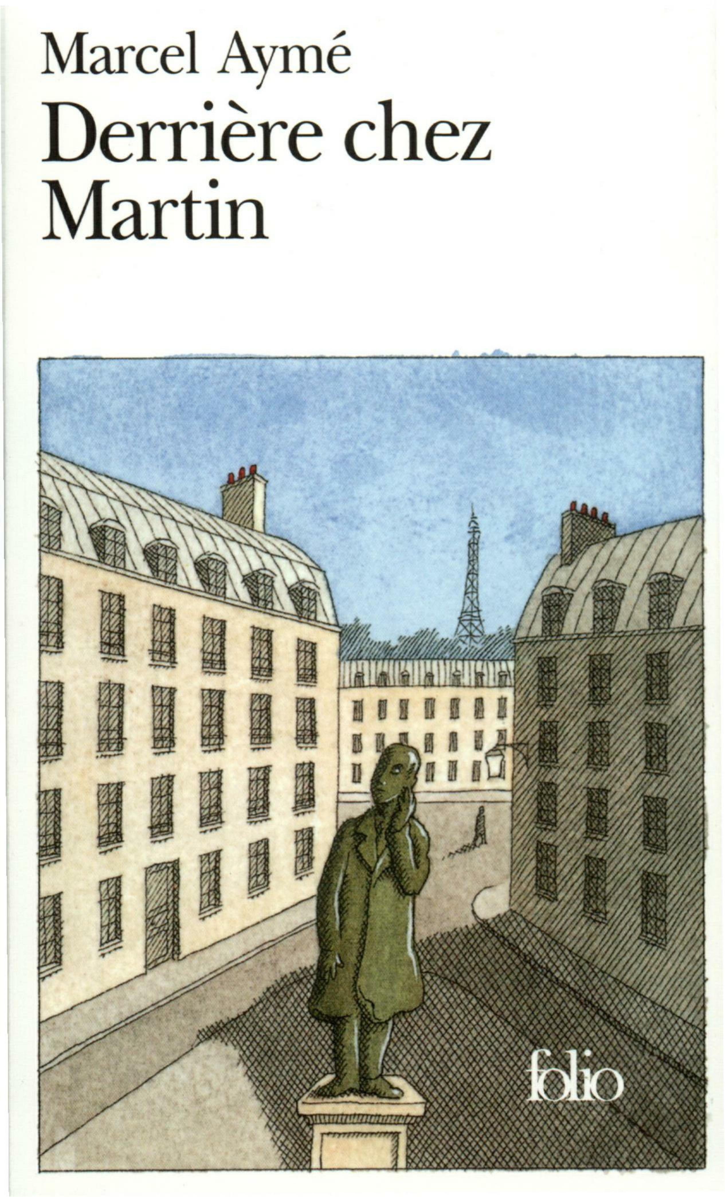 Vignette du livre Derrière chez Martin