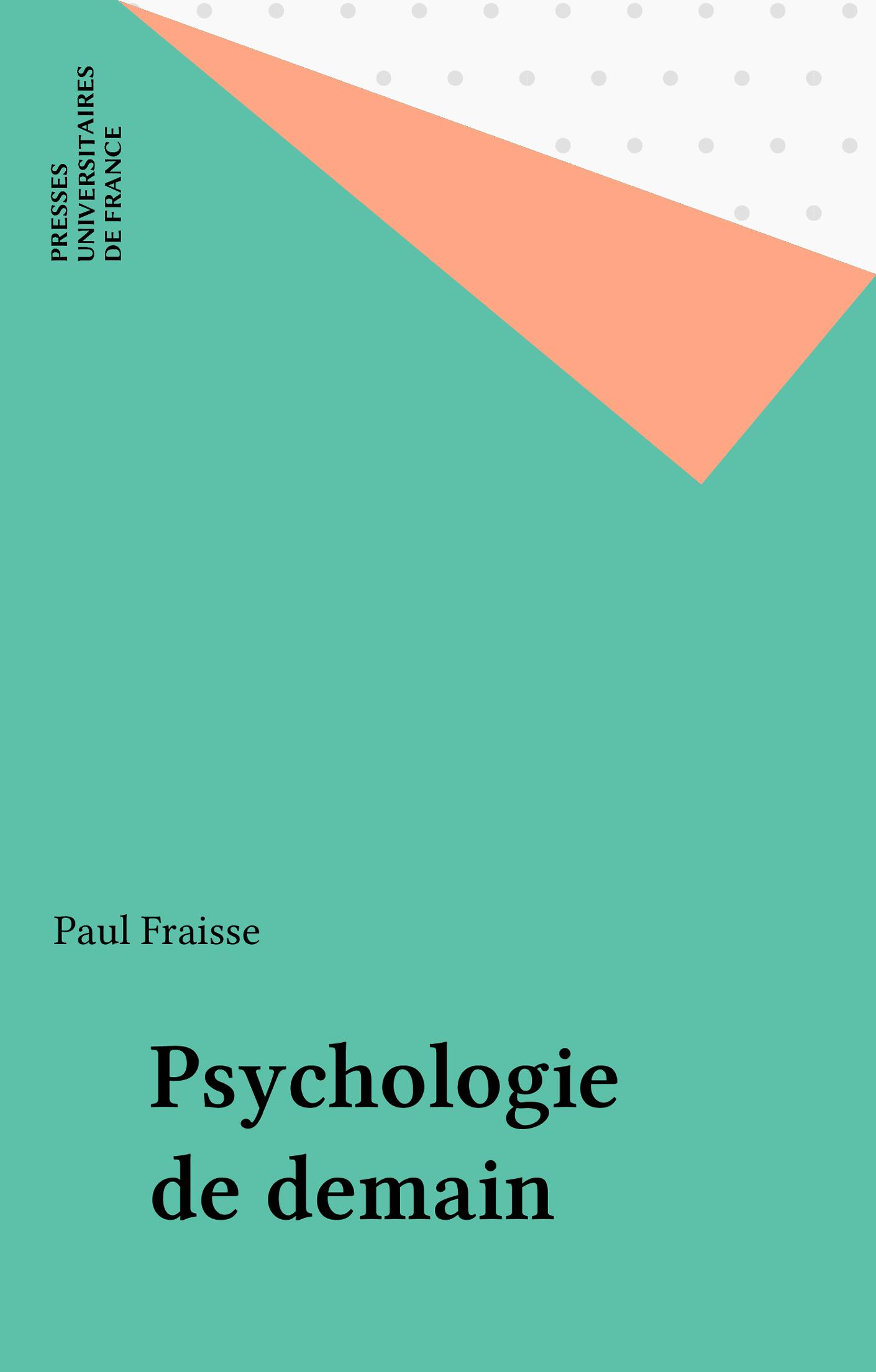 Psychologie de demain