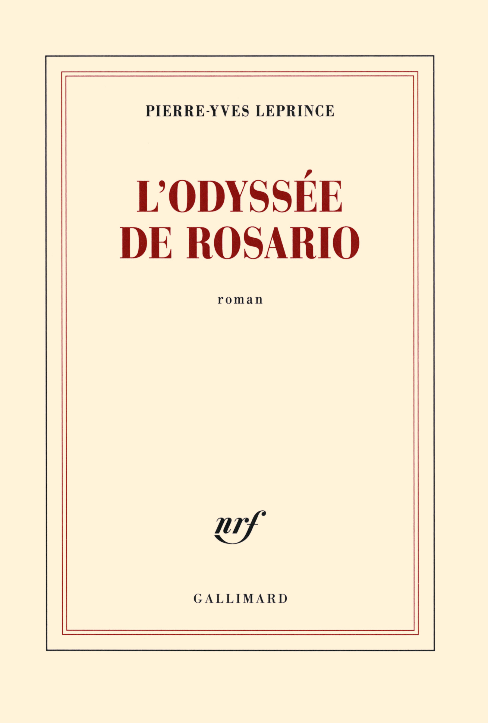 L'odyssée de Rosario | Leprince, Pierre-Yves