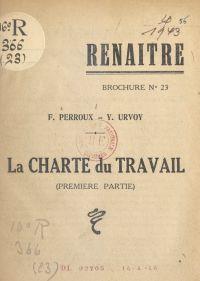 La charte du travail (1). S...