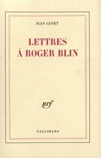 Lettres à Roger Blin