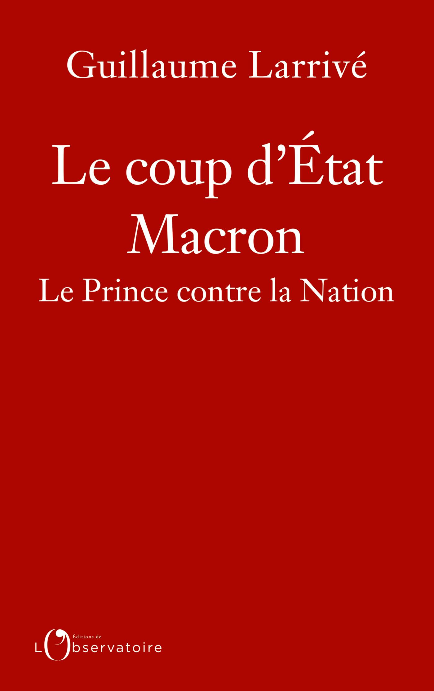 LE COUP D'ETAT MACRON