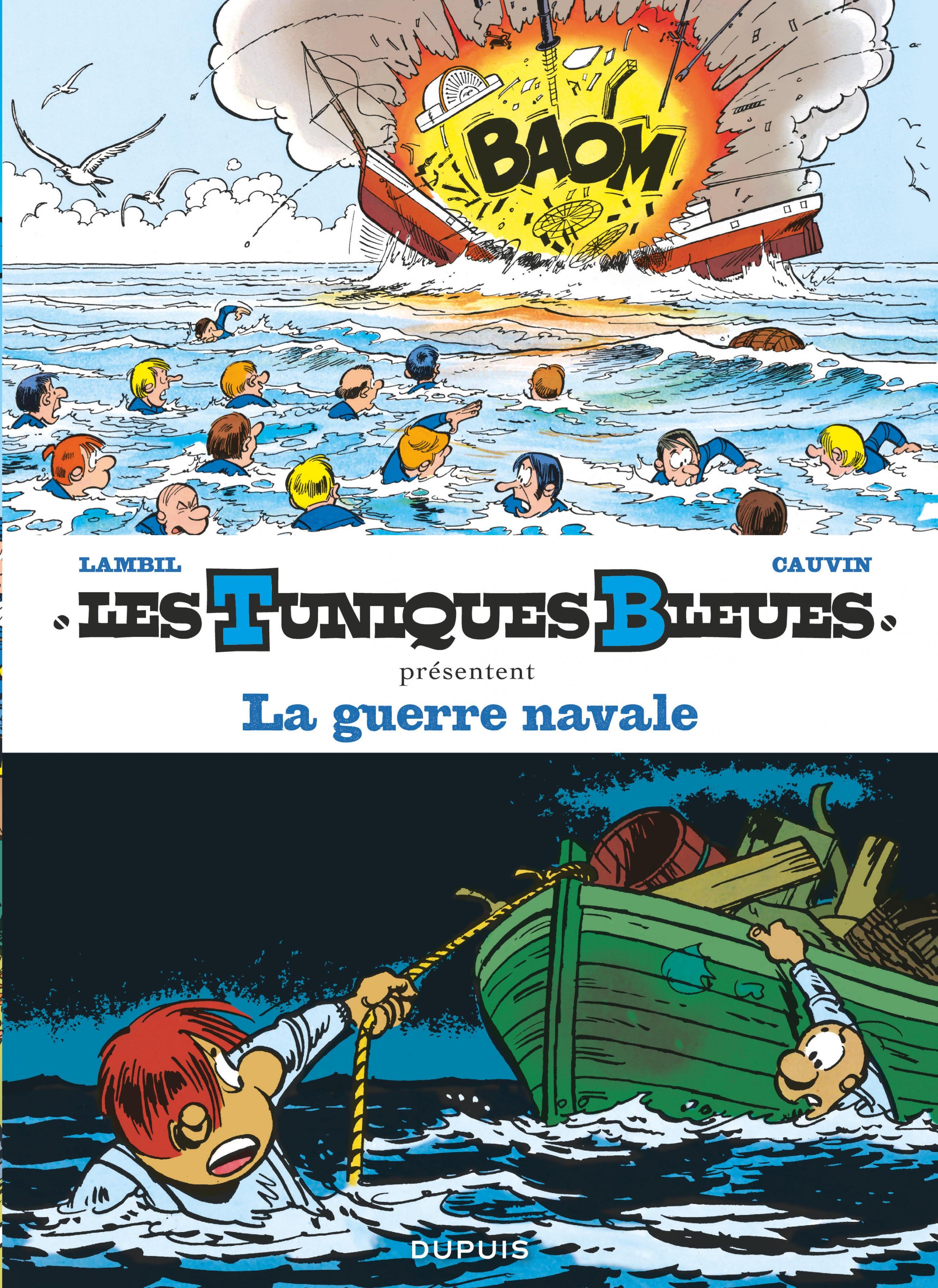 Les Tuniques Bleues présentent - Tome 7 - La guerre navale