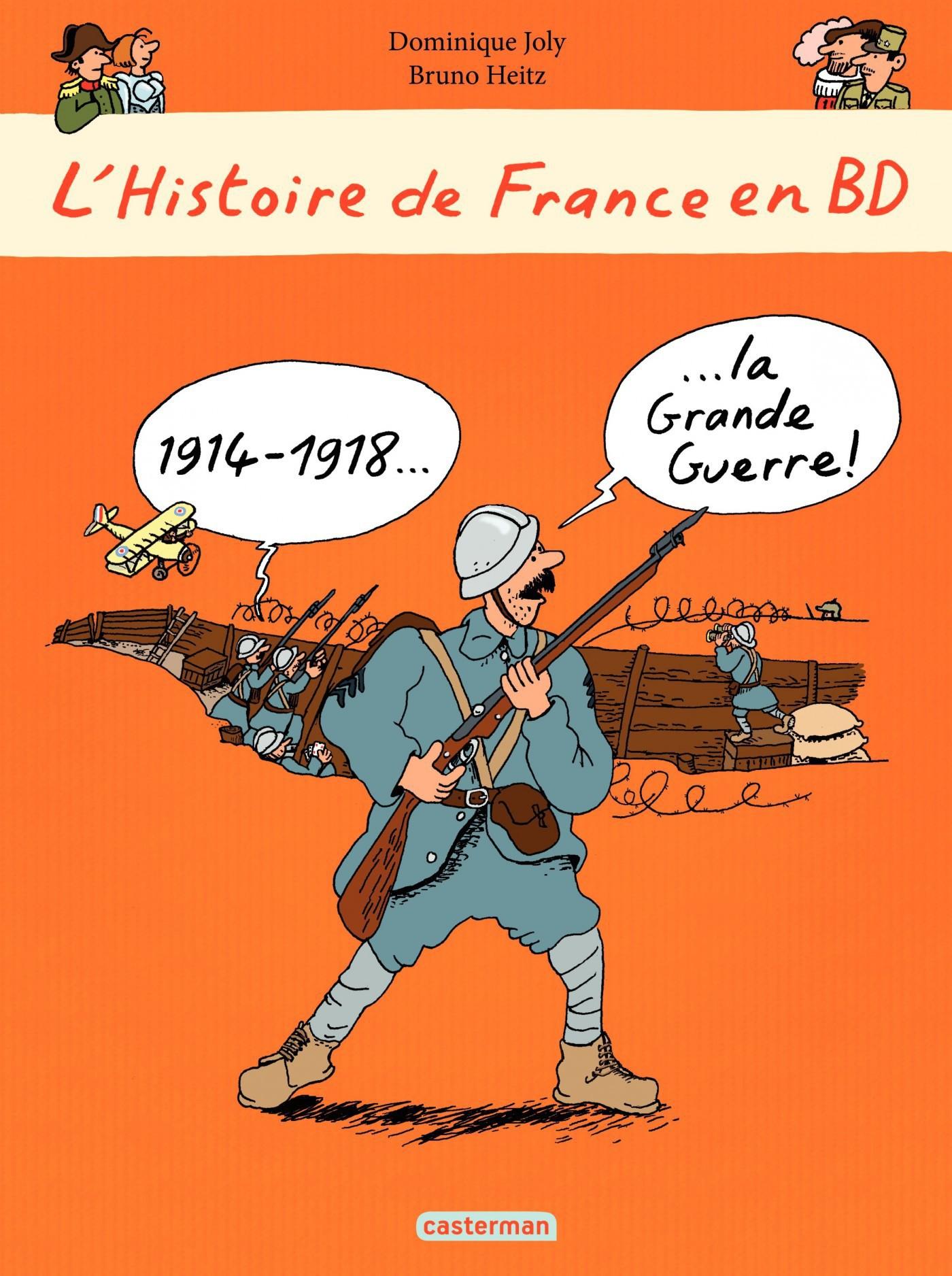 L'histoire de France en BD - 1914-1918 La Grande Guerre