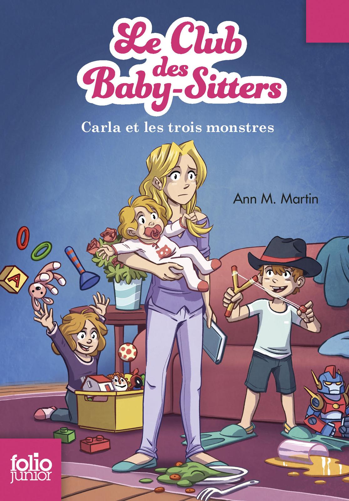 Le Club des baby-sitters (Tome 5) - Carla et les trois monstres