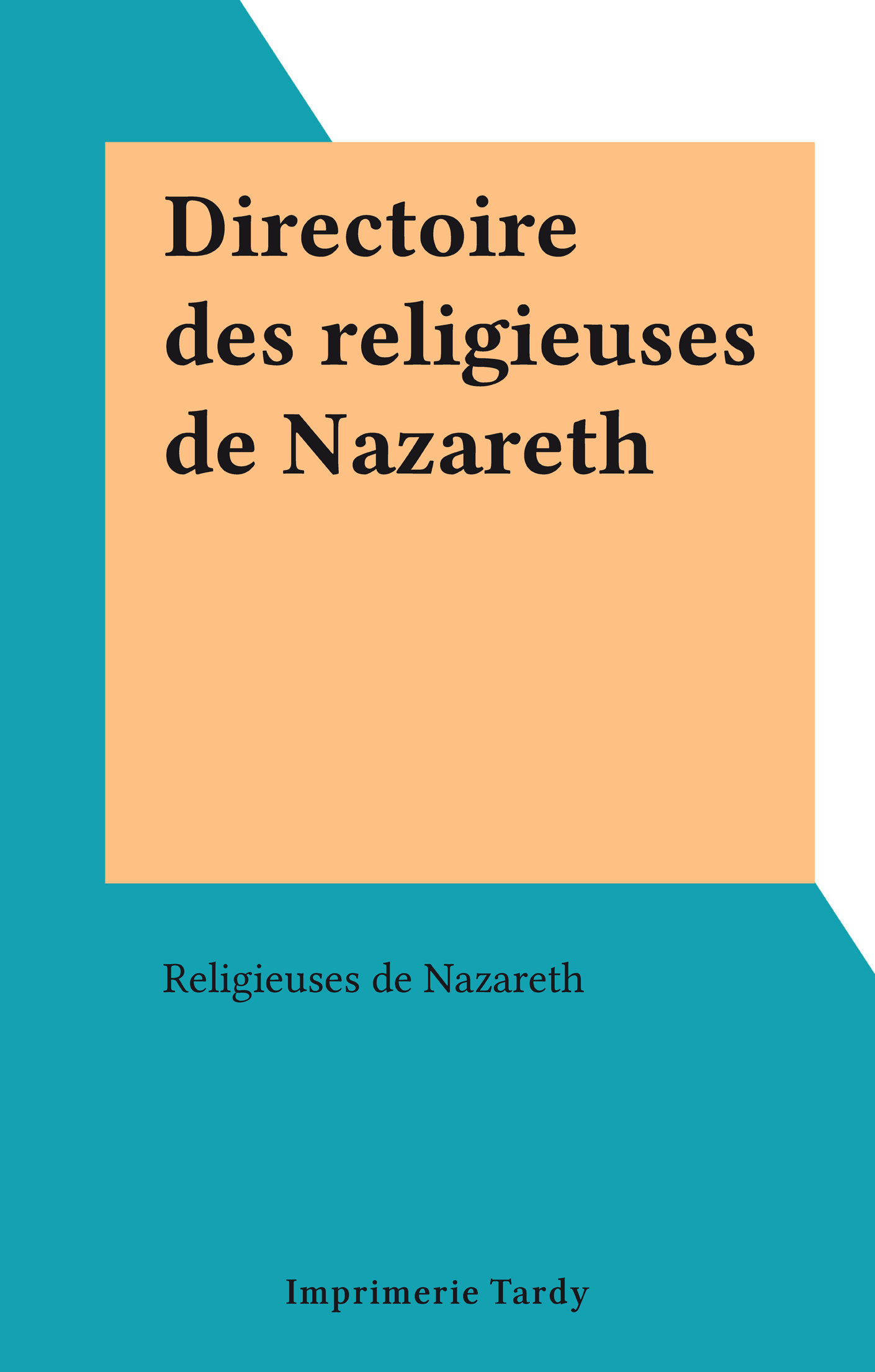 Directoire des religieuses ...
