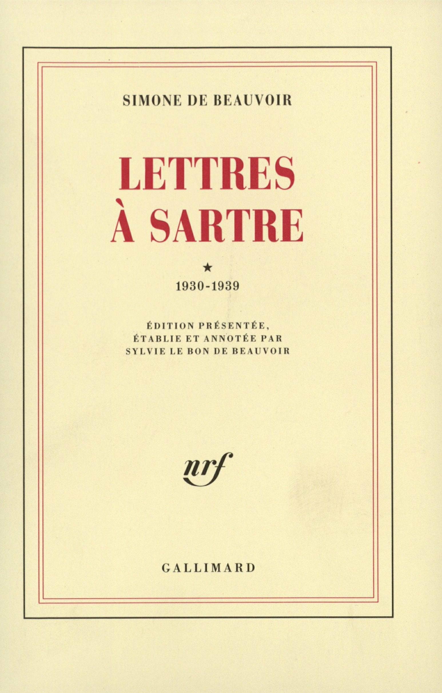 Lettres ? Sartre