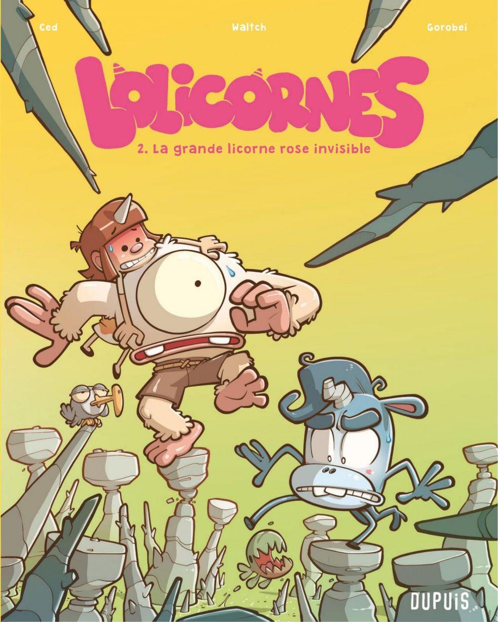 Lolicornes - Tome 2 - La grande licorne rose invisible |