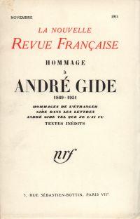 Hommage ŕ André Gide N' (Novembre 1951)