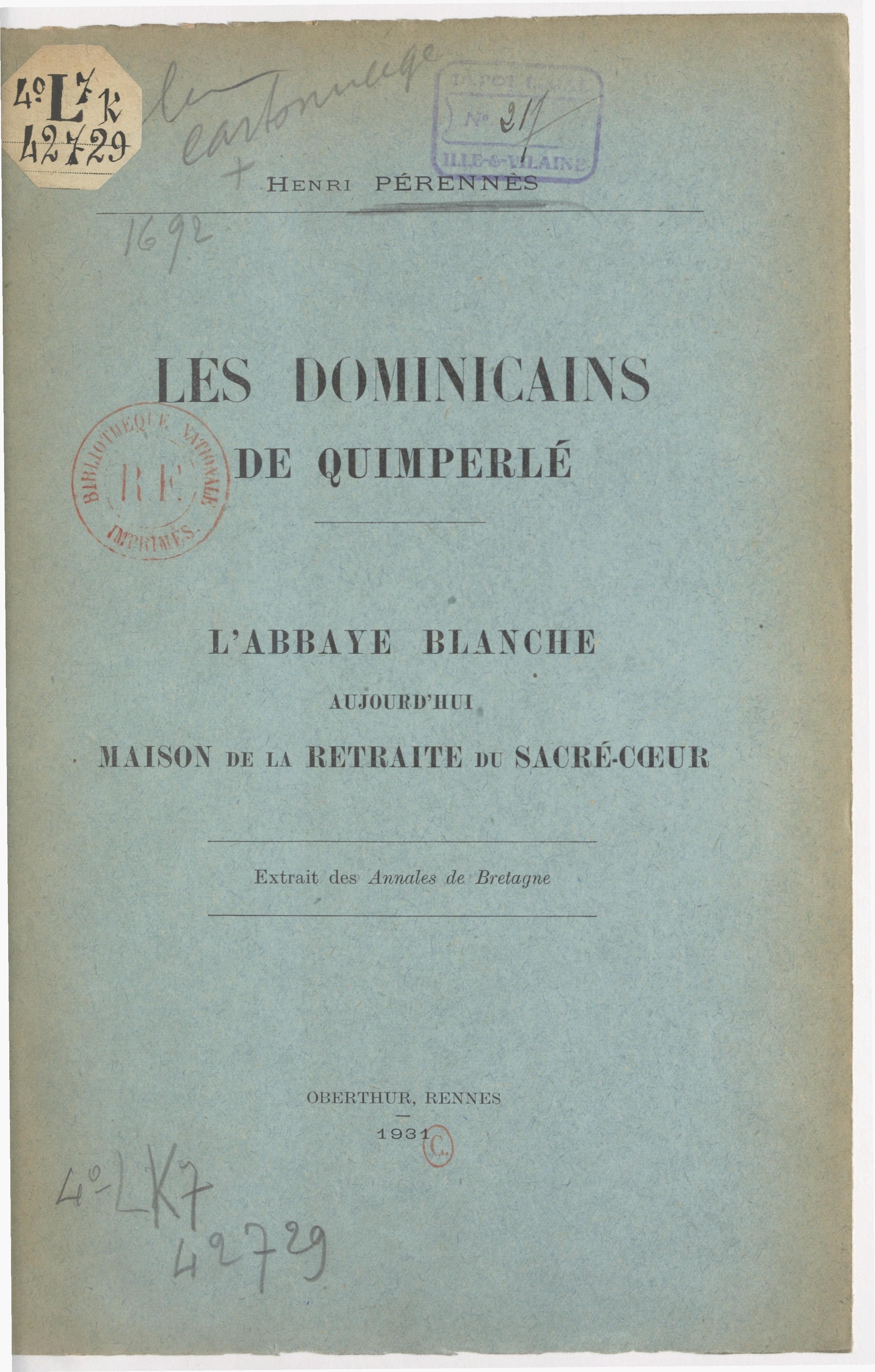 Les Dominicains de Quimperlé