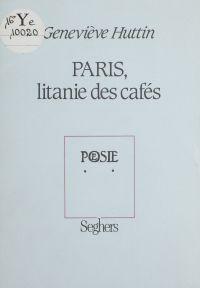 Paris : litanie des cafés
