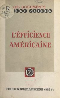 L'efficience américaine à l...
