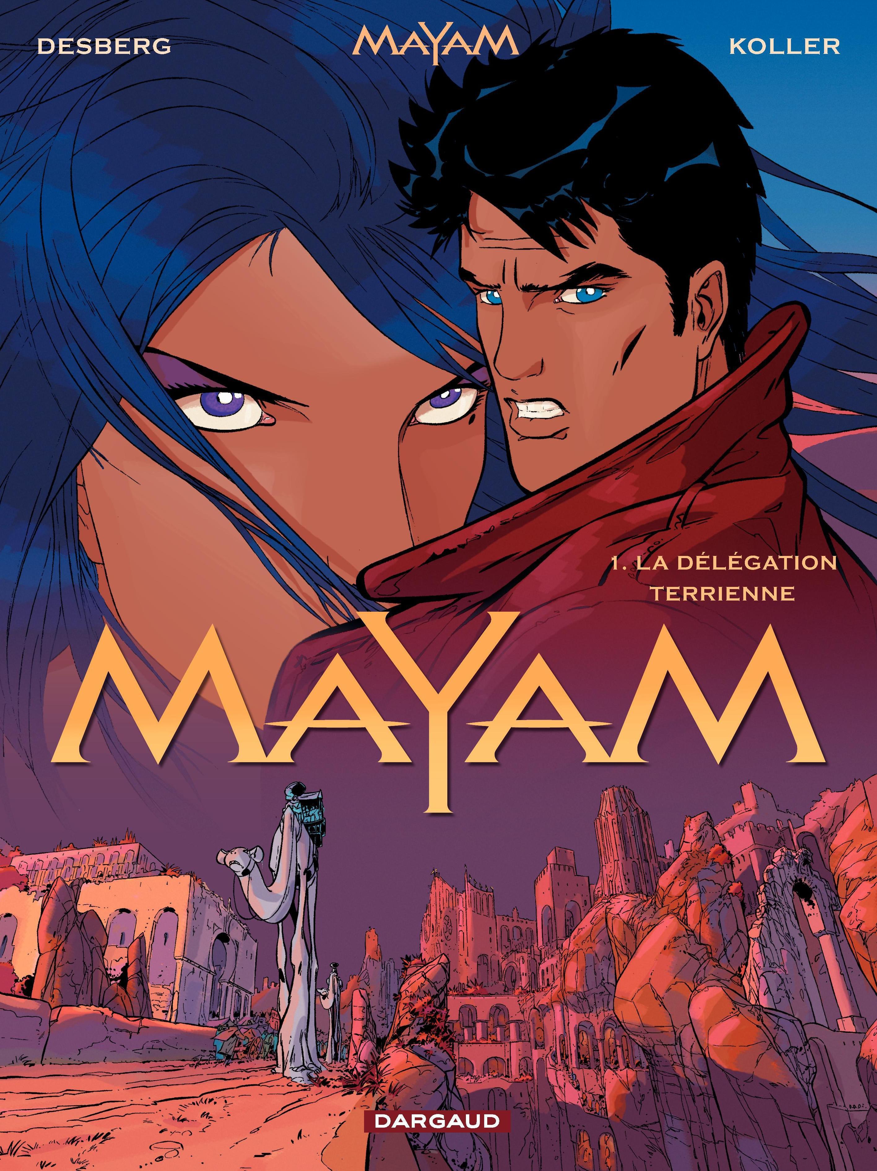 Mayam - tome 1 – La délégation terrienne