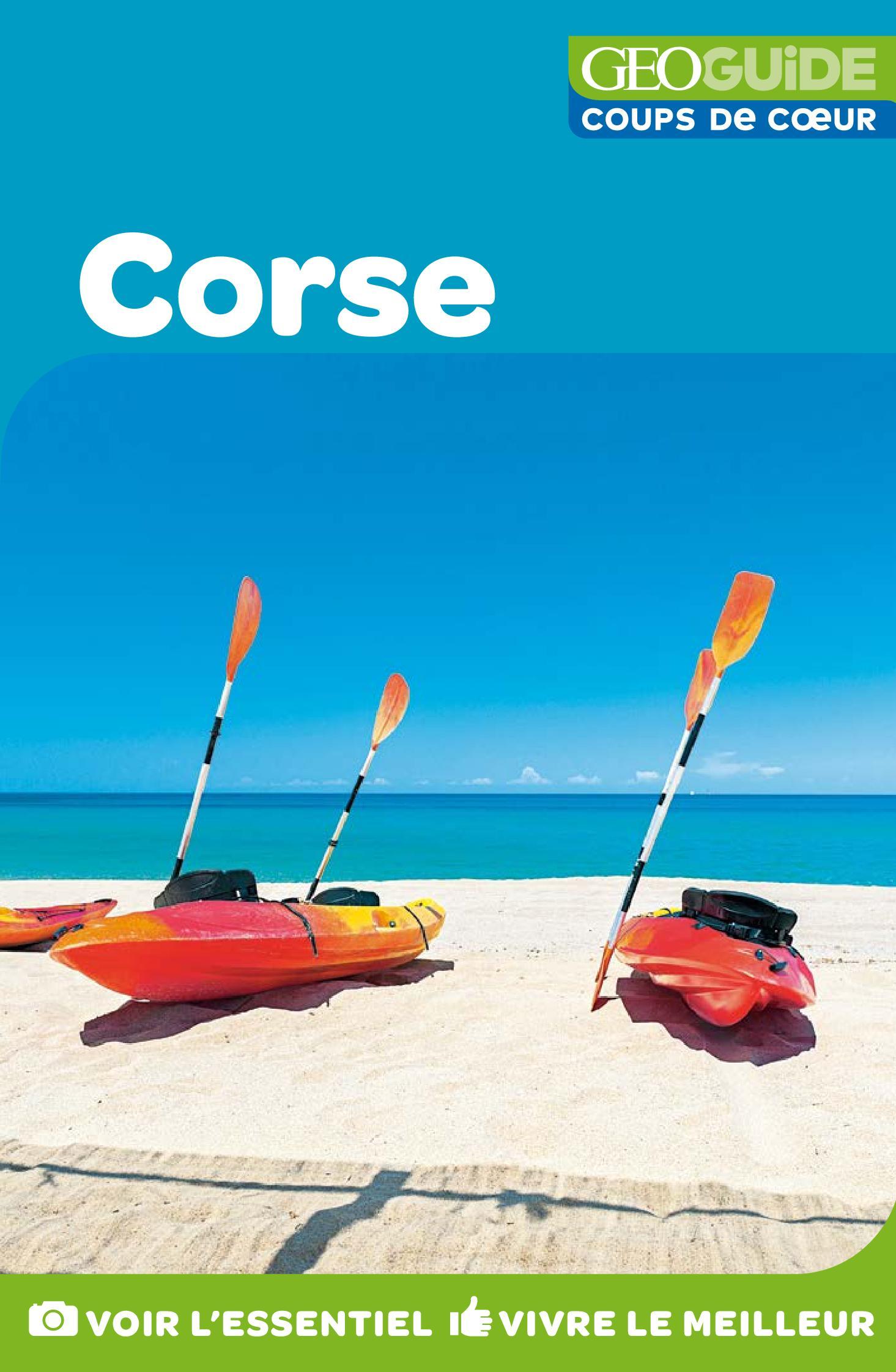 GEOguide Coups de coeur Corse | Collectif Gallimard Loisirs,