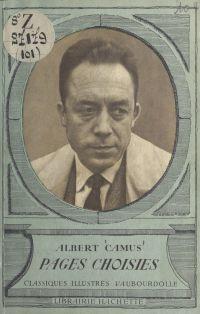 Pages choisies : Albert Camus