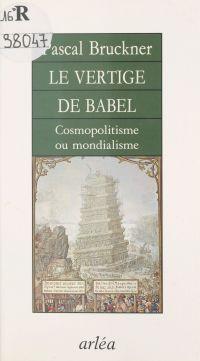 Le Vertige de Babel : Cosmo...