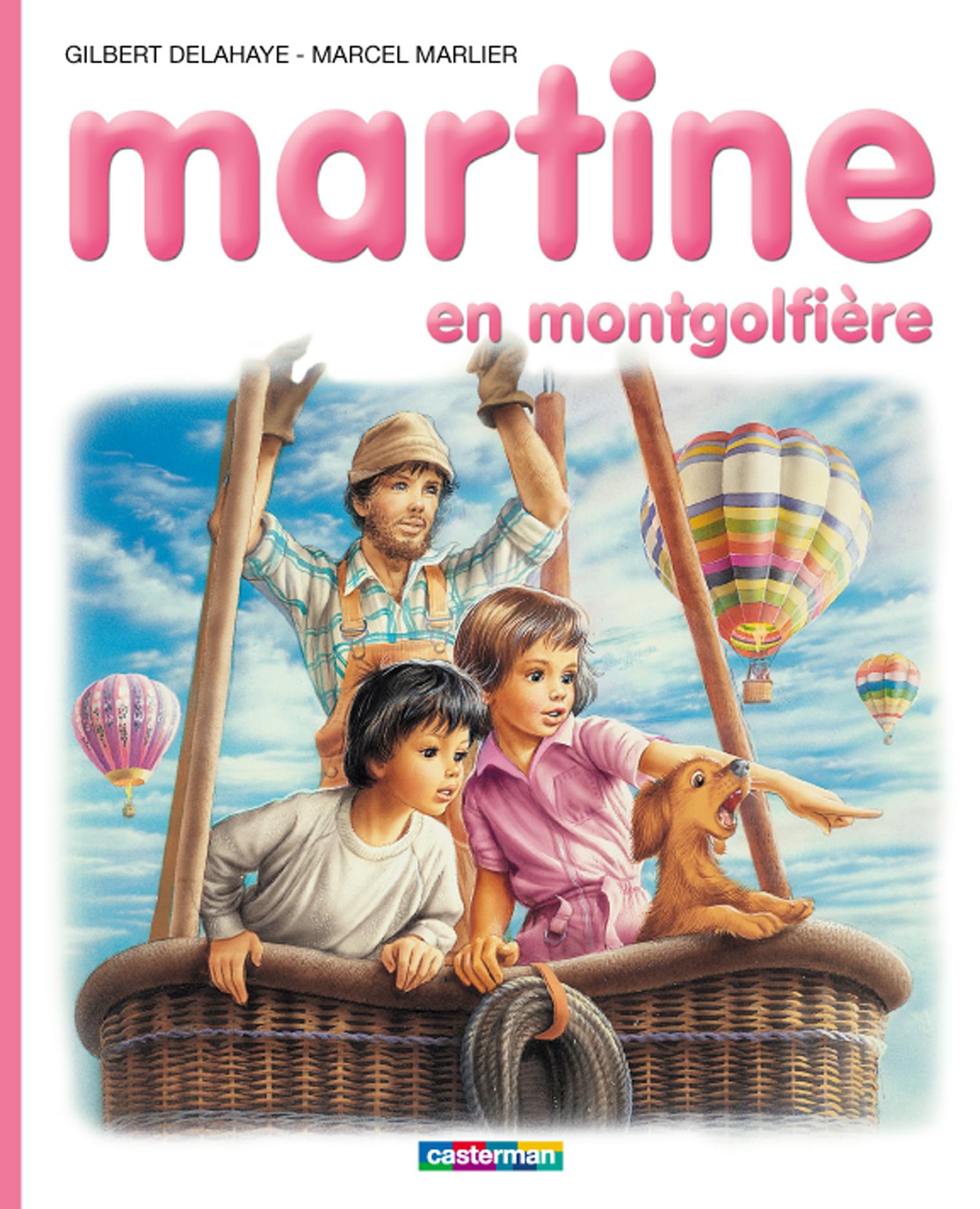 Martine en montgolfière