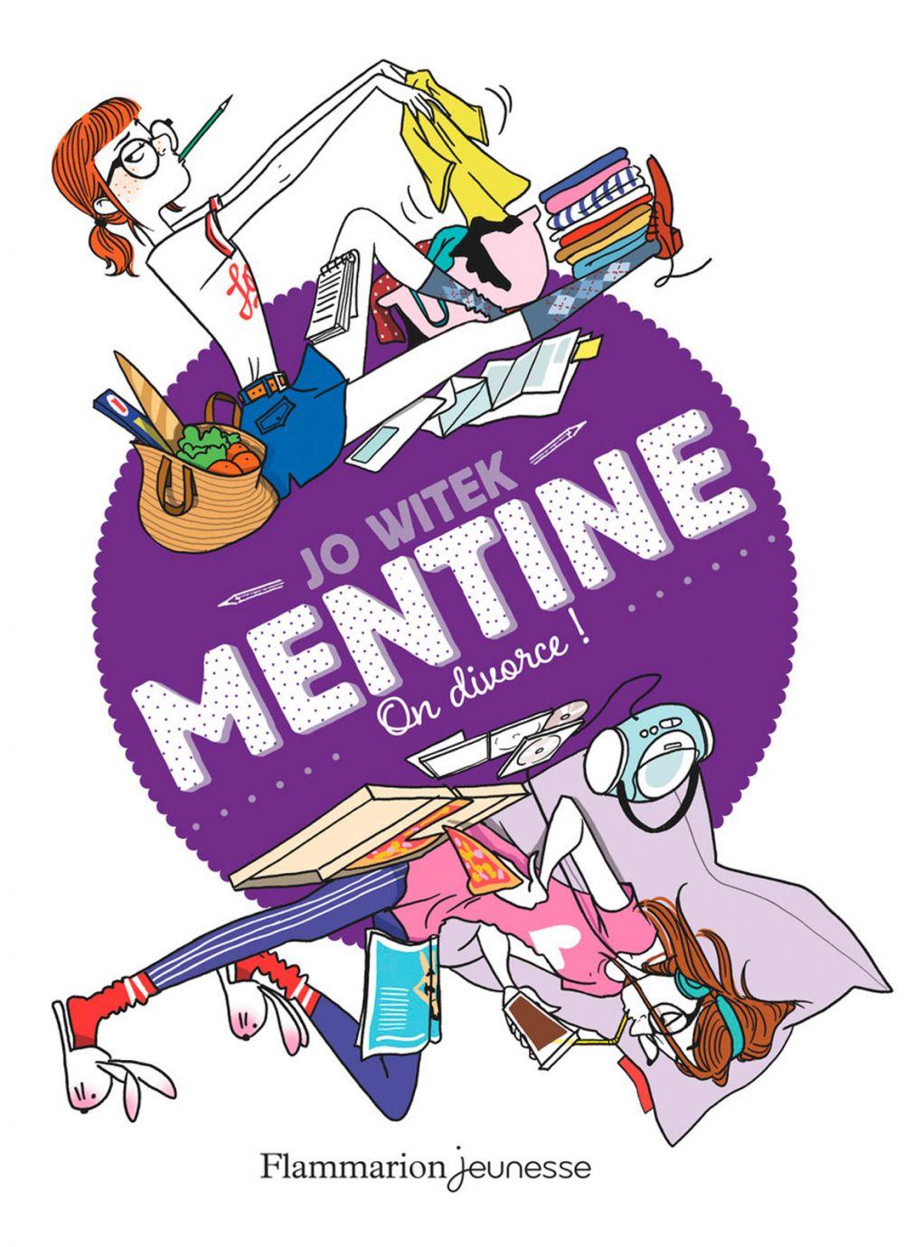 Mentine (Tome 5) - On divorce ! | Witek, Jo
