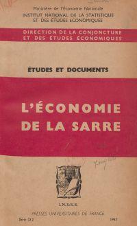 L'économie de la Sarre