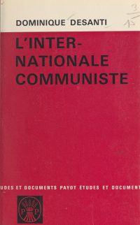 L'internationale communiste