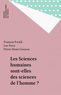 Les Sciences humaines sont-...
