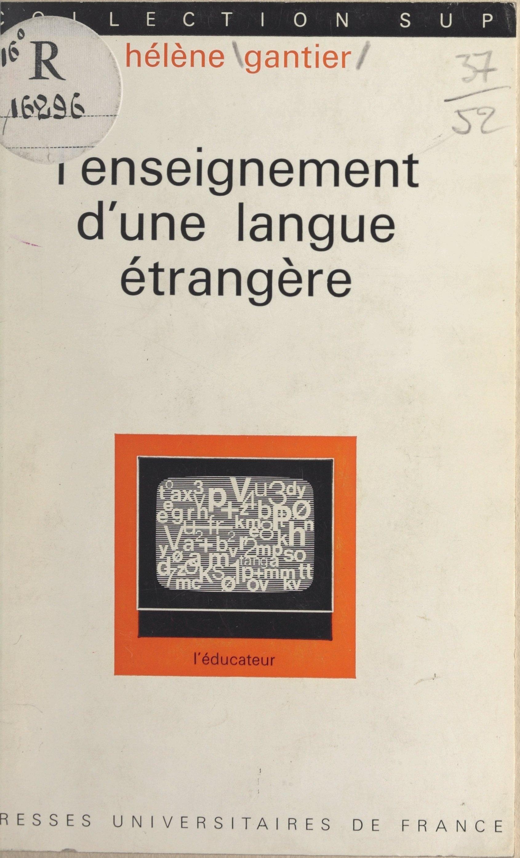 L'enseignement d'une langue...