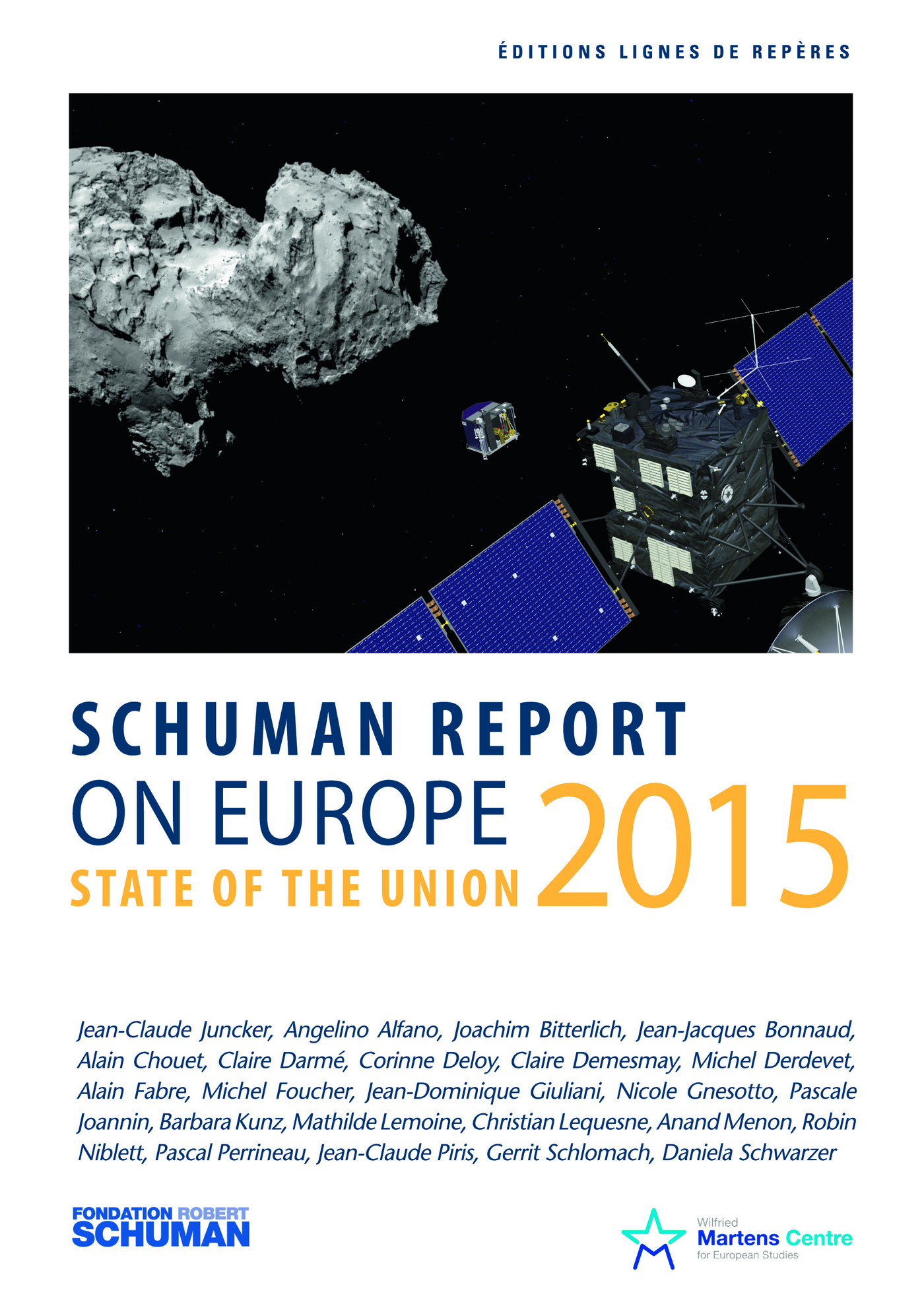 State of the Union Schuman report 2015 on Europe