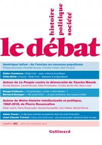 Le Débat N° 203 (Janvier- F...