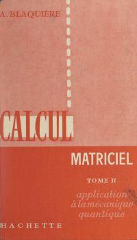 Calcul matriciel (2)