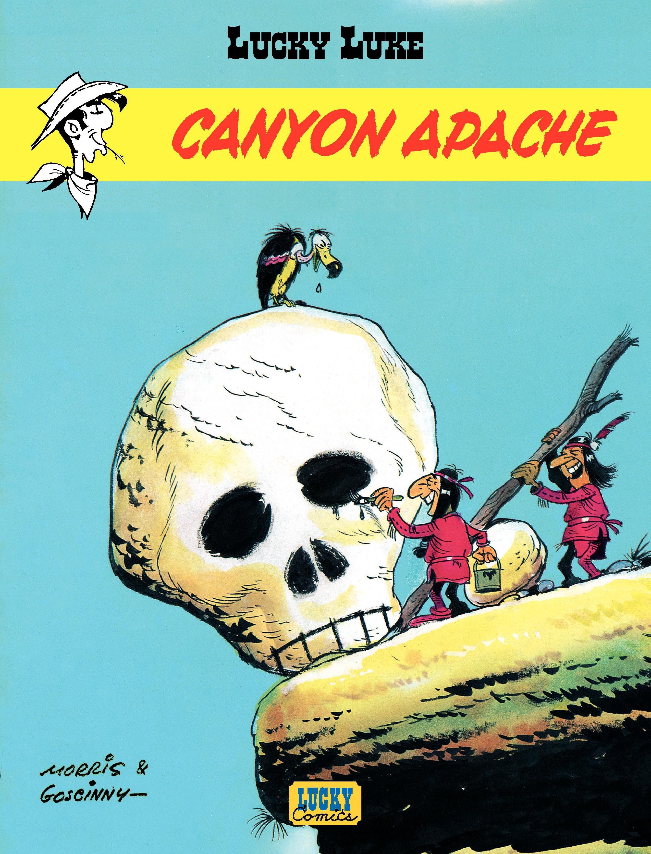 Lucky Luke - tome 6 - Canyon Apache