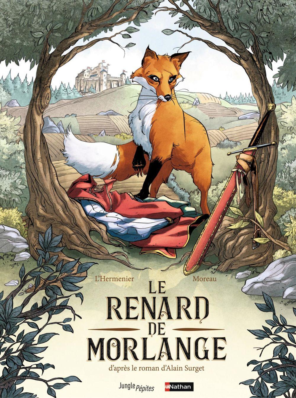Le renard de Morlange   l'Hermenier, Maxe. Auteur