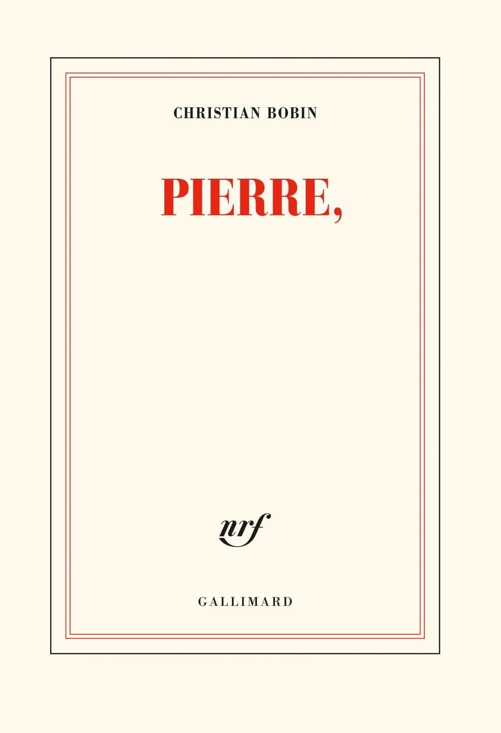 Pierre, | Bobin, Christian. Auteur