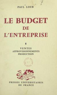Le budget de l'entreprise (1)