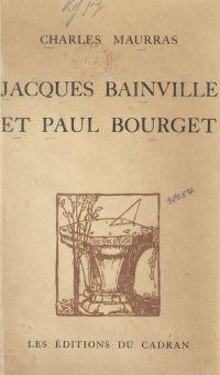 Jacques Bainville et Paul B...