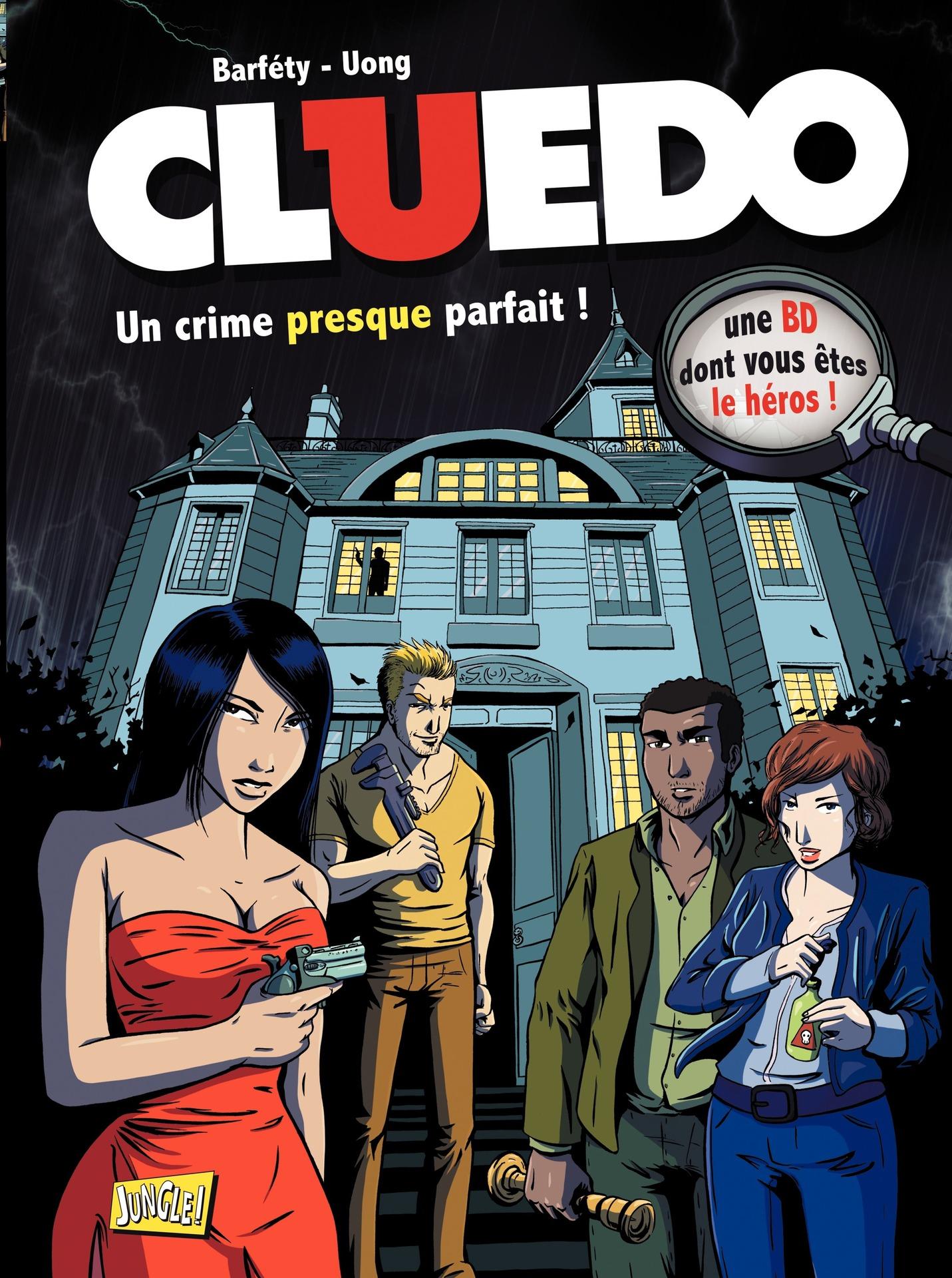 Cluedo - Tome 1 - Un crime presque parfait ! |