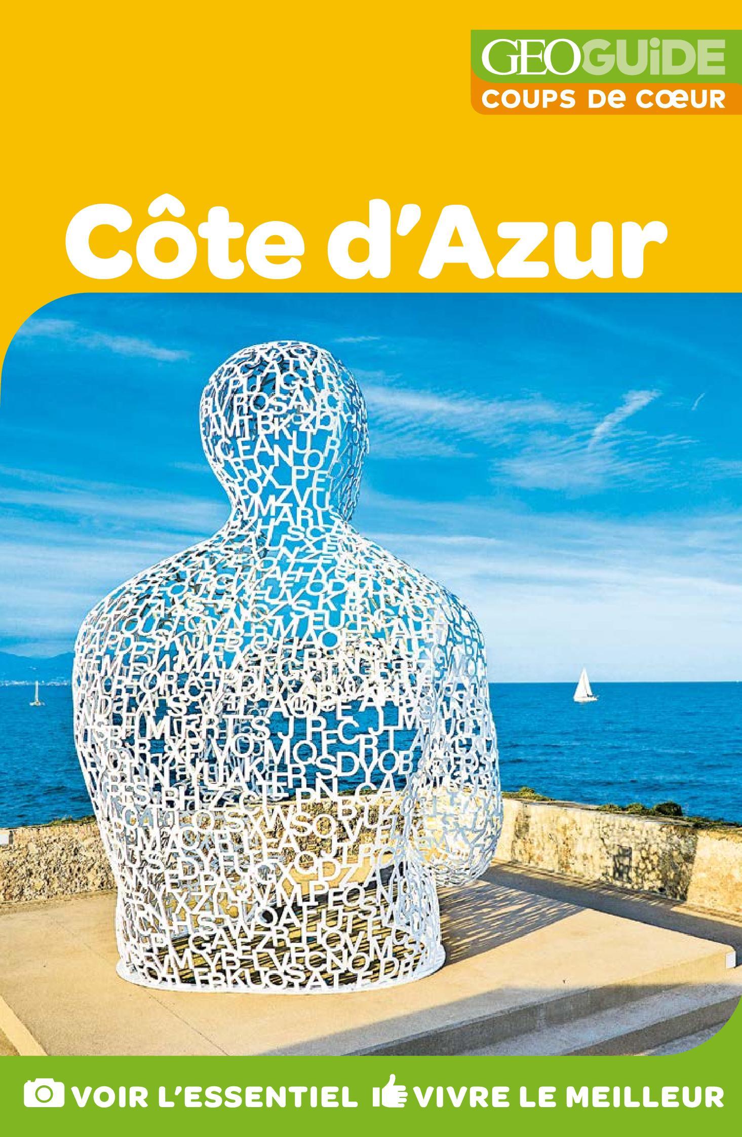 GEOguide Coups de coeur Côte d'Azur | Collectif Gallimard Loisirs,