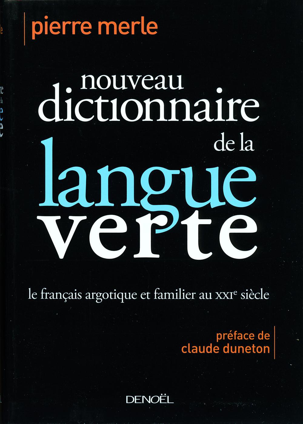 Nouveau dictionnaire de la langue verte