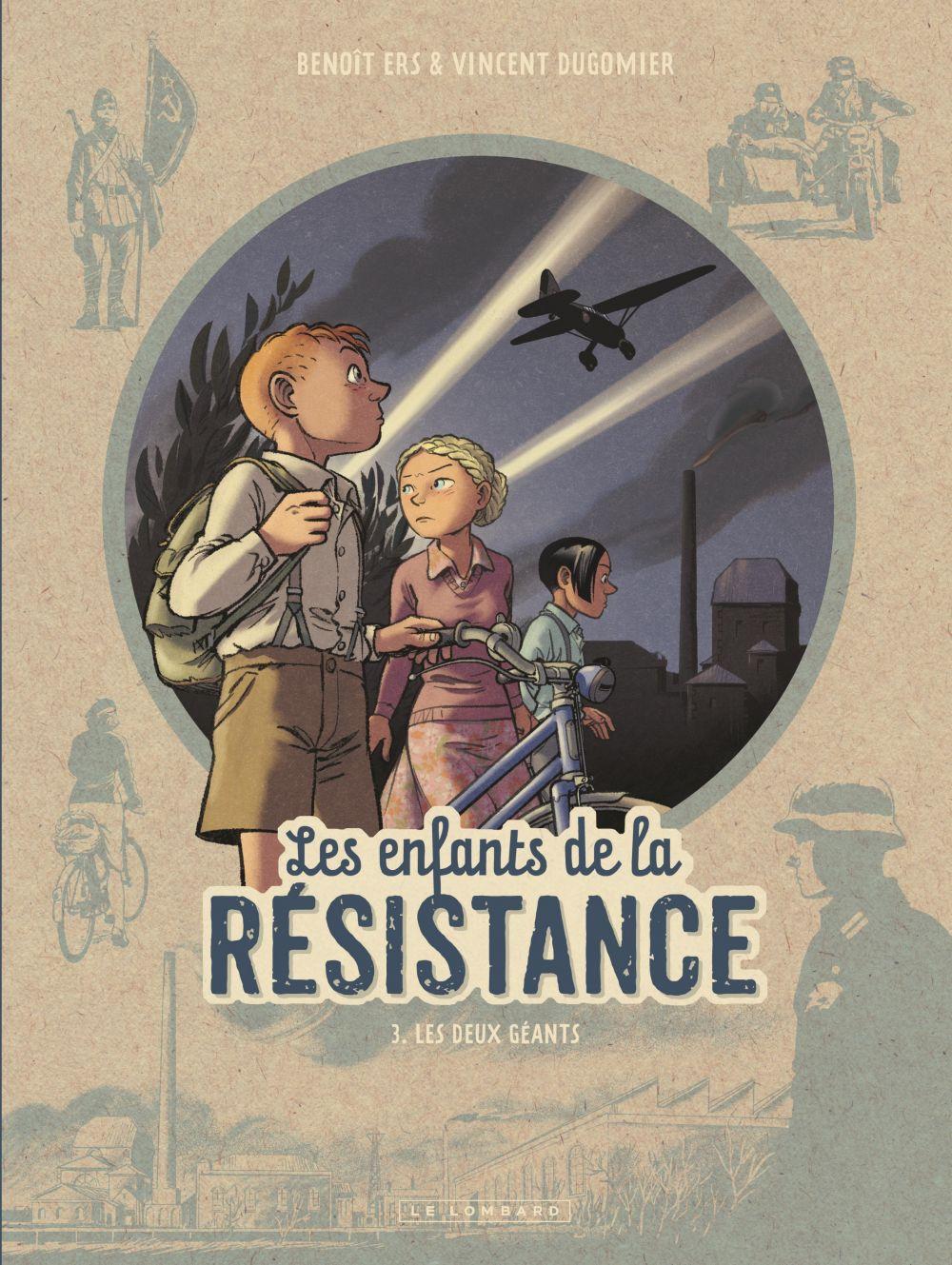 Les Enfants de la Résistance - Tome 3 - Les Deux géants   Ers, . Contributeur
